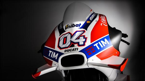 Ducati MotoGP 2016 Dovizioso bike