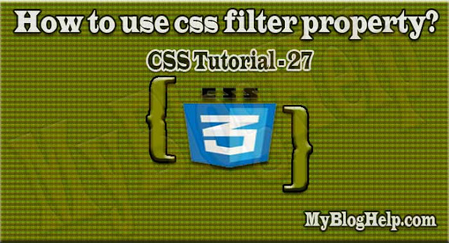 css filter property