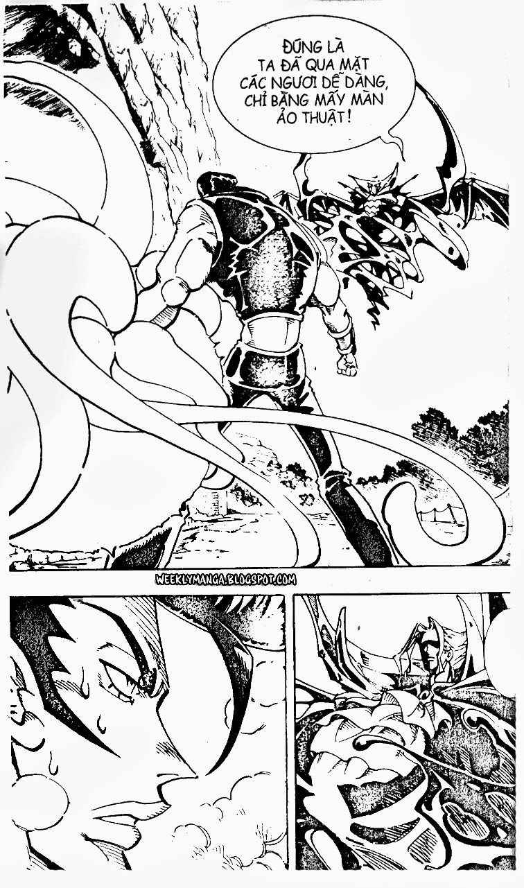 Shaman King [Vua pháp thuật] chap 99 trang 3