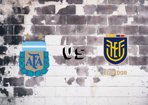 Argentina vs Ecuador  Resumen y Partido Completo