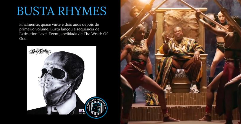 22 anos depois, Busta Rhymas lança continuação de seu álbum ELE (Extinction Level Event)