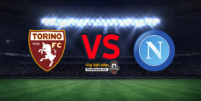 مشاهدة مباراة نابولي وتورينو بث مباشر اليوم 23 ديسمبر 2020 في الدوري الايطالي
