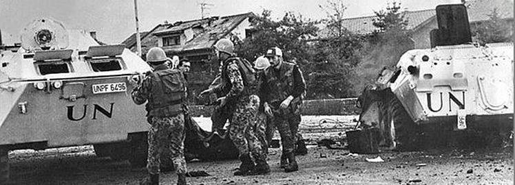 Символіка українських миротворців 1992-2020