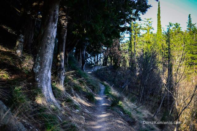 Cammino di Dante - trekking Dom z Kamienia, Toskania