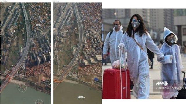 CURIGA Amerika Sebut China Banyak Bohong Soal Corona Terbukti, Lihat Foto Satelit, WHO Kecolongan!