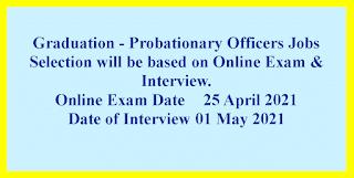 Graduation - Probationary Officers Jobs in Vikas Souharda Co-operative Bank Ltd.