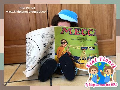 kiki monchhichi meccano vintage jouet toys
