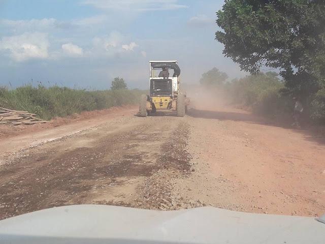 H Iskandar SE Intruksikan Kebut Perbaikan Pembangunan Jalan di OKI