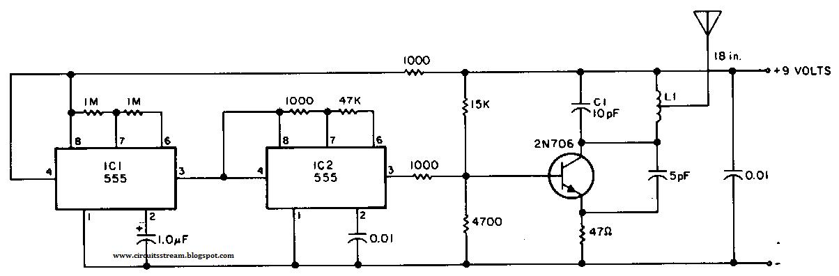 Build a Beacon Transmitter Circuit Diagram ~ electronictheory ...