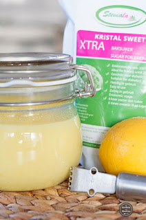 Koolhydraatarme lemon curd