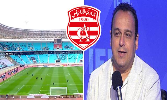 بالفيديو : مراد الزغيدي ... النادي الإفريقي هو ثاني أكبر جمعية جماهيريا في تونس