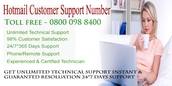 Hotmail Customer Support Number