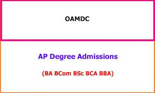AP Degree Admissions 2021-22
