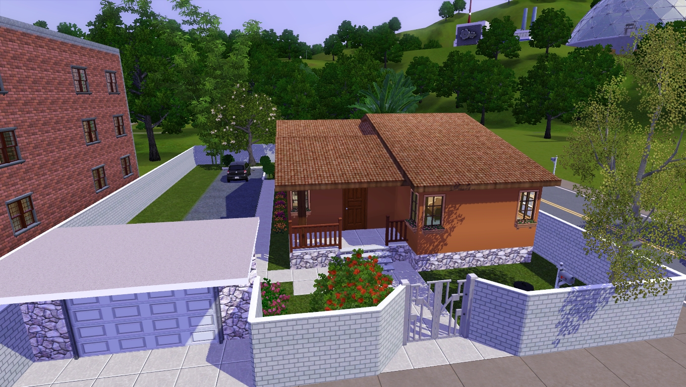 Eightsims the sims 3 the sims 4 casa simples 3 for Sims 4 piani di casa