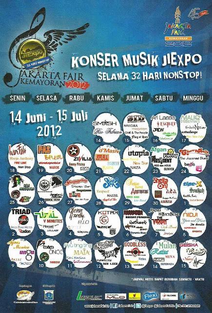 konser jakarta fair 2012
