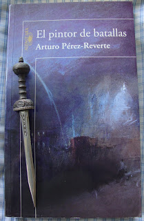 Portada del libro El pintor de batallas, de Arturo Pérez-Reverte