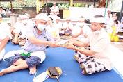 Wabup dan Bupati Tamba  Hadiri Pujawali Di Pura Segara Desa Pengambengan