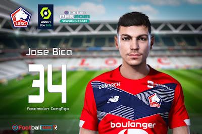 PES 2021 Faces José Bica by CongNgo