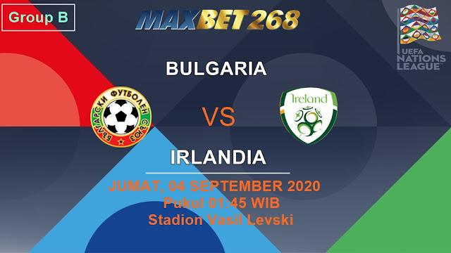 Prediksi Bulgaria Vs Republik Irlandia, Jumat 04 September 2020 Pukul 01.45 WIB