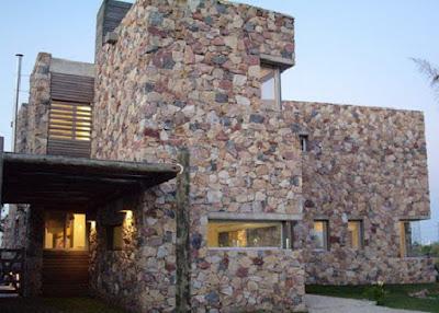 stone style house 26