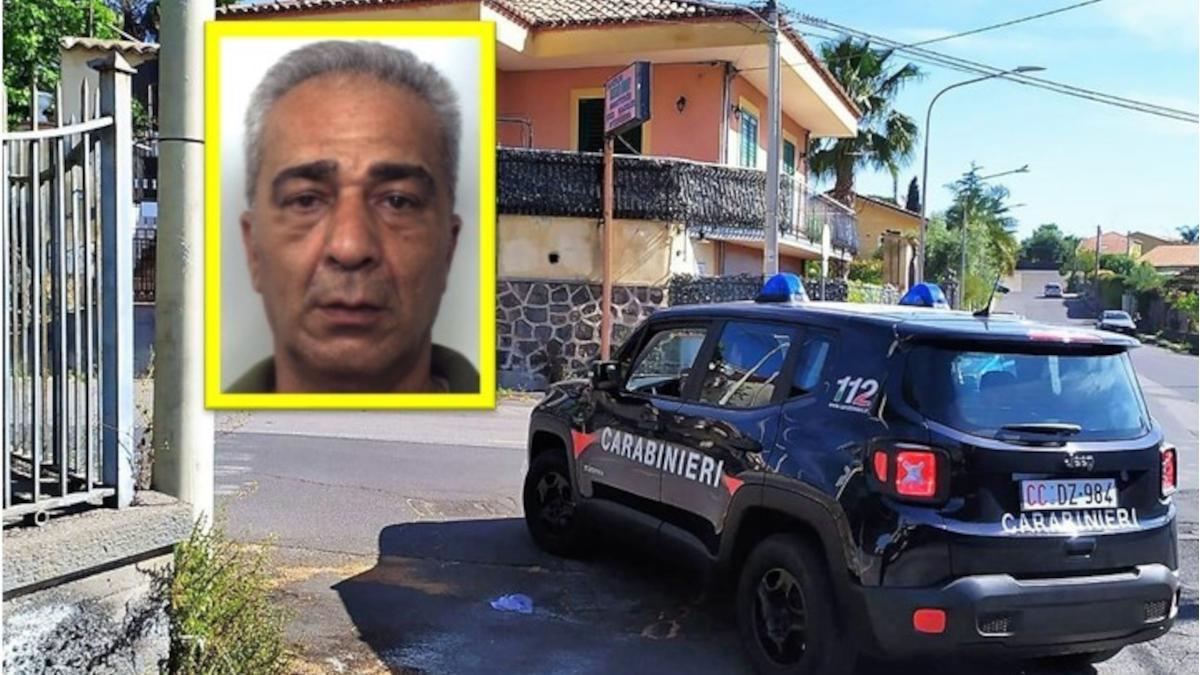 Viagrande Carabinieri arresto rapinatore Nizza