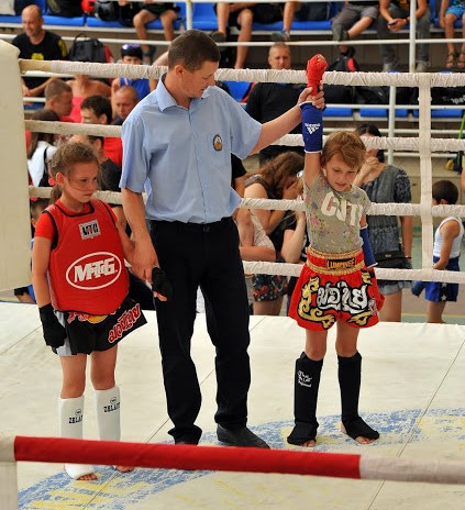 muay thai amateur kids sports Ukraine boxing Thai boxing