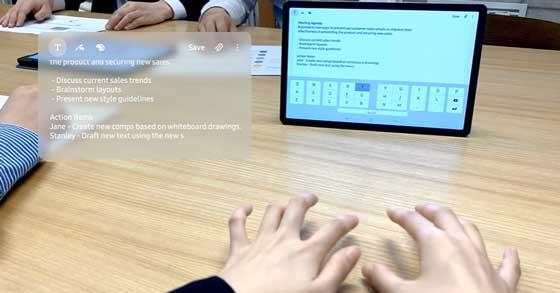 selfietype keyboard tak terlihat dari samsung - keyboard tanpa keyboard
