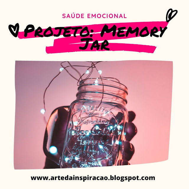 Vem conhecer um projeto que pode te ajudar a ser mais grato e ter sempre boas lembranças, é o memory jar.
