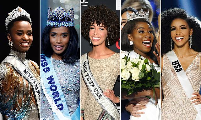 MISS MUNDO: beleza negra domina concurso