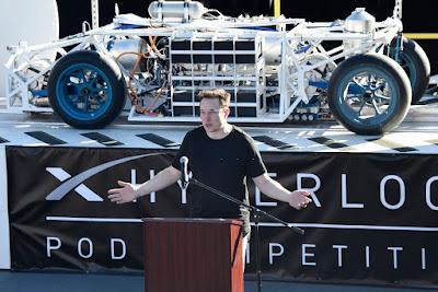Elon speaking speaking about HYPERLOOP