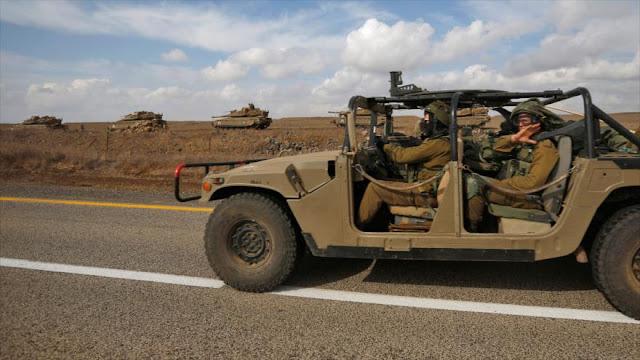 Israel monitorea avances del Ejército sirio en altos de Golán
