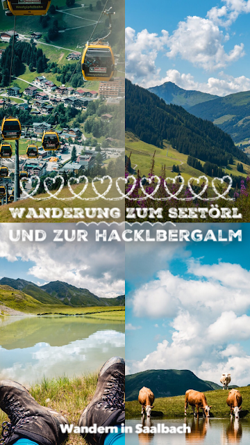 Wanderung zum Seetörl und zur Hacklbergalm  Schattberg Westgipfel Saalbach 21