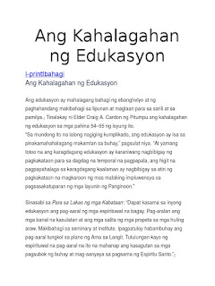 Thesis in math education
