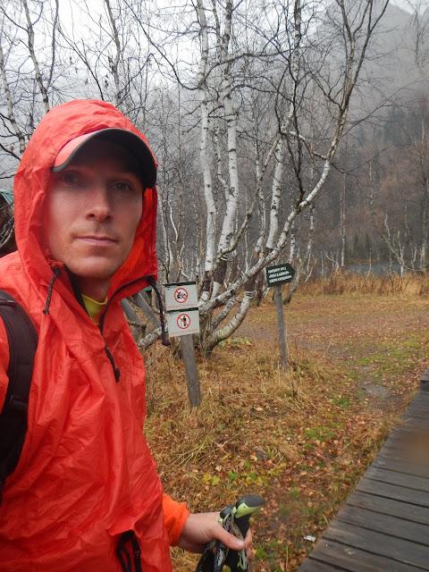 У Озера Кардывач, Андрей Думчев, осень, дождь