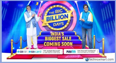 Flipkart Big Billion Days Hinted, Arriving With Offers, Big Deals On Mobiles, Electronics, And More
