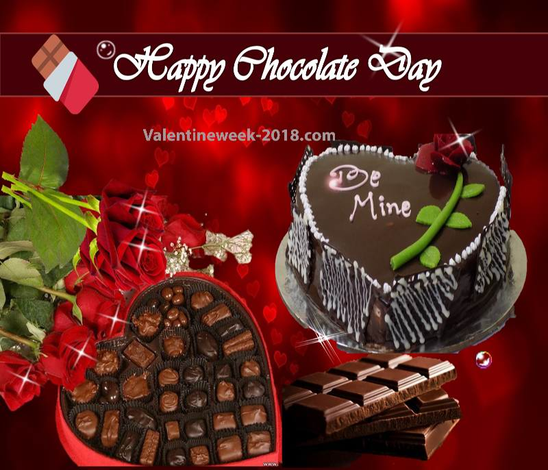 Happy chocolate day images for love 2018