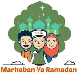stiker lucu bulan ramadhan