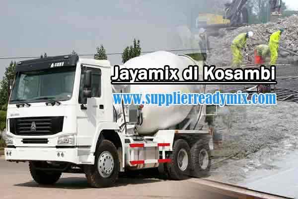 Harga Cor Beton Jayamix Kosambi Per M3 2021