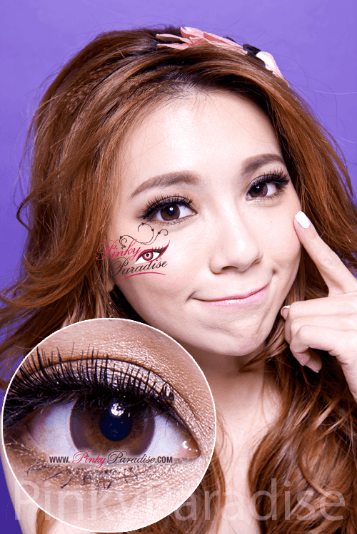 Mi Natural Brown Toric Circle Lenses (Colored Contacts)