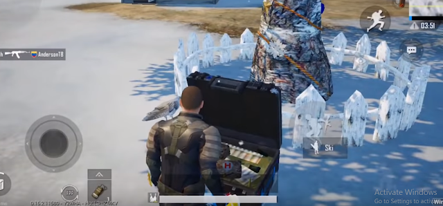 Frozen Eggs in School PUBG Mobile