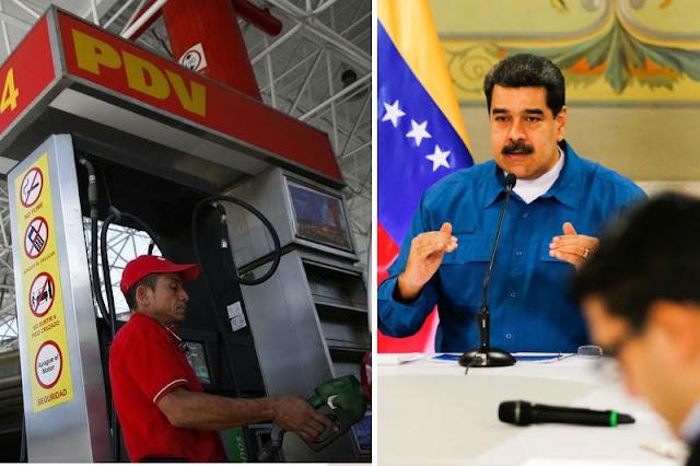 Maduro reculó con anunciar el aumento de la gasolina para evitar un Caracazo