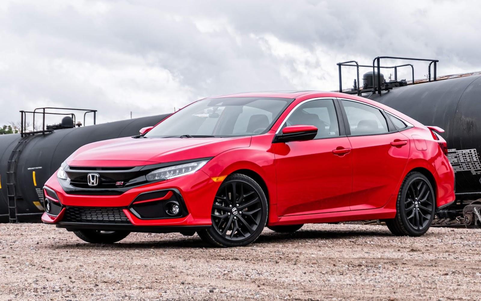 Honda Civic Si Sedan 2020 ganha aperfeiçoamentos - fotos ...