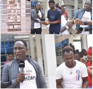 [BangHitz] Video: OWOMOWOMO splashes over 10million naira on Mamuze brothers and others