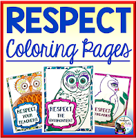 Respect Owl Coloring Pages