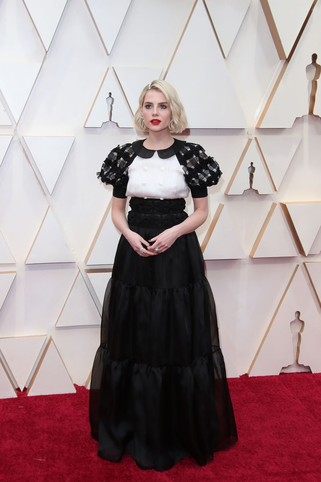 Lucy Boynton - Oscars 2020 Red Carpet - 92nd Annual Academy Awards in Los Angeles