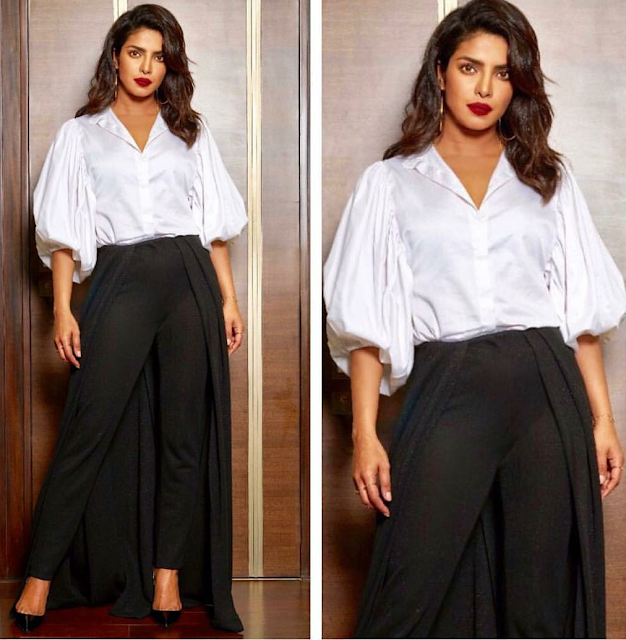 Priyanka Chopra In Black and White