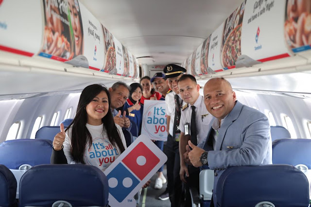 Domino's Pizza Flies High with MASwings,