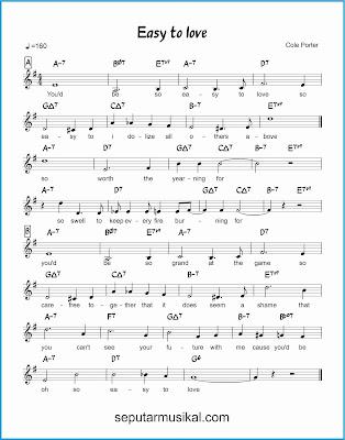 easy to love lagu jazz standar