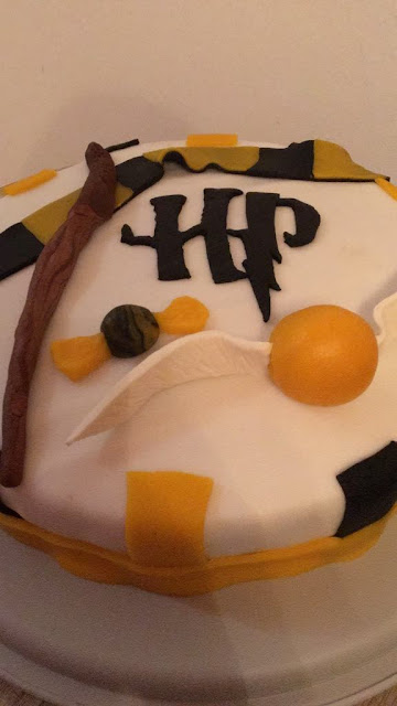 Harry Potter Hufflepuff Torte