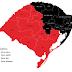 URGENTE: RS tem 11 regiões em bandeira preta no mapa preliminar